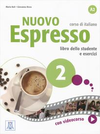Nuovo espresso 2: Livello A2: Corso di italiano: Libro dello studente e esercizi (+ DVD-ROM),