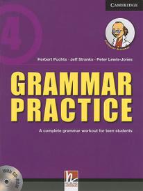 Cambridge: Grammar Practice Level 4: A Complete Grammar Workout for Teen Students (+ CD),