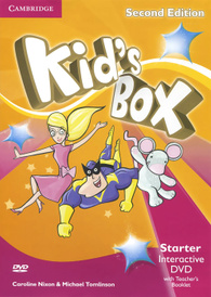 Kid's Box: Starter: Interactive DVD with Teacher's Booklet (аудиокурс на DVD-ROM),