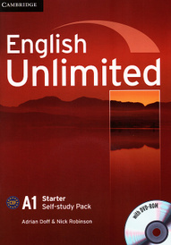 English Unlimited: Level A1: Self-study Pack (+ DVD-ROM),