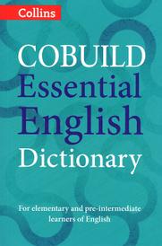 Cobuild Essential English Dictionary,