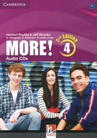 More! Level 4 (аудиокурс на 3 CD),