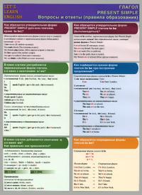 Let's Learn English / Глагол Present Simple. Вопросы и ответы. Правила образования,