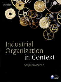 Industrial Organization in Context,