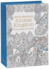 Animal Kingdom: 50 colouring postcards,