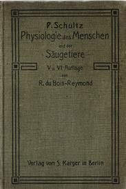 Kompendium der Physiologie des Menschen und der Saugetiere,