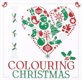 I Heart Colouring: Christmas,