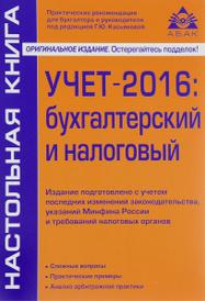 Учет – 2016. Бухгалтерский и налоговый, Г. Ю. Касьянова