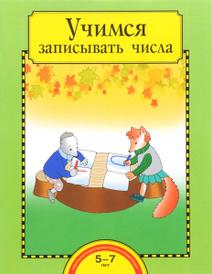 Учимся записывать числа. Тетрадь для работы взрослых с детьми, О. А. Захарова