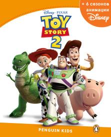 Toy Story 2, адаптированная книга для чтения, Уровень 3 + код доступа к анимации Disney,