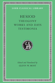 Hesiod – Theogony. Works and Days. Testimonia V 1 L057 (Trans. Most) (Greek),