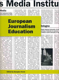 European Journalism Education,