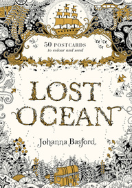 Lost Ocean Postcard Edition: 50 Postcards to Colour and Send,