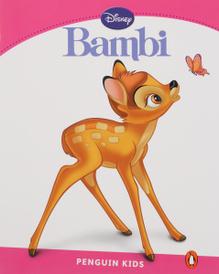 Bambi, адаптированная книга для чтения, Уровень 2 + код доступа к анимации Disney,