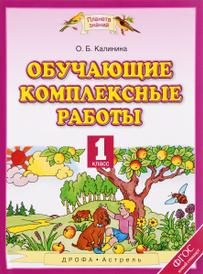 Обучающие комплексные работы. 1 класс, О. Б. Калинина