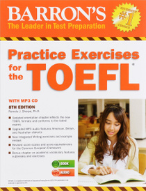Barron's Practice Exercises for the TOEFL: Test of English as a Foreign Language (+ CD),
