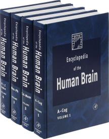 Encyclopedia of the Human Brain, Four-Volume Set, (комплект из 4 книг),