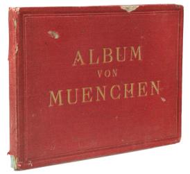 Album von Muenchen. Виды Мюнхена. Альбом с 20 гравюрами середины XIX века,