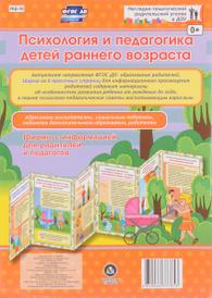 Психология и педагогика детей раннего возраста. Ширмы с информацией для родителей и педагогов,