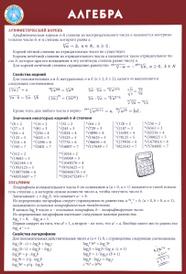 Алгебра,
