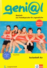 Geni@l: Deutsch als Fremdsprache fur Jugendliche: Ferienheft A2 (+ CD),