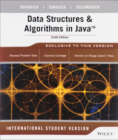 Data Structures & Algorithms in Java,