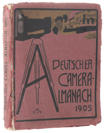 Deutscher Camera-Almanach, 1905,