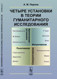 Четыре установки в теории гуманитарного исследования. Позитивизм. Интуитивизм. Спекулятивизм. Критическая установка, Перлов А.М.