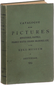 Catalogue of pictures, miniatures, pastels, framed drawings, etc. in the Rijks-museum at Amsterdam,