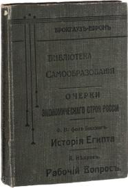 Очерки экономического строя России,
