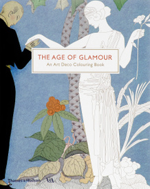 The Age of Glamour: An Art Deco Coloring Book,