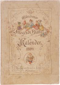 Munchener Fliegende Blatter. Kalender fur 1889,