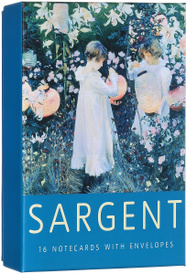 Sargent Boxed Notecards (+ 16 envelopes),