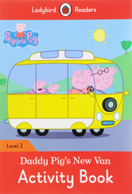 Peppa Pig: Daddy Pig New Van: Activity Book: Level 2,