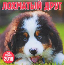 Календарь 2018 (на скрепке). Лохматый друг,