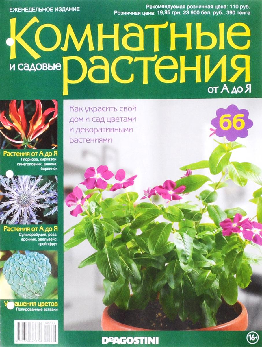 """Журнал """"Комнатные и садовые растения. От А до Я"""" №66,"""