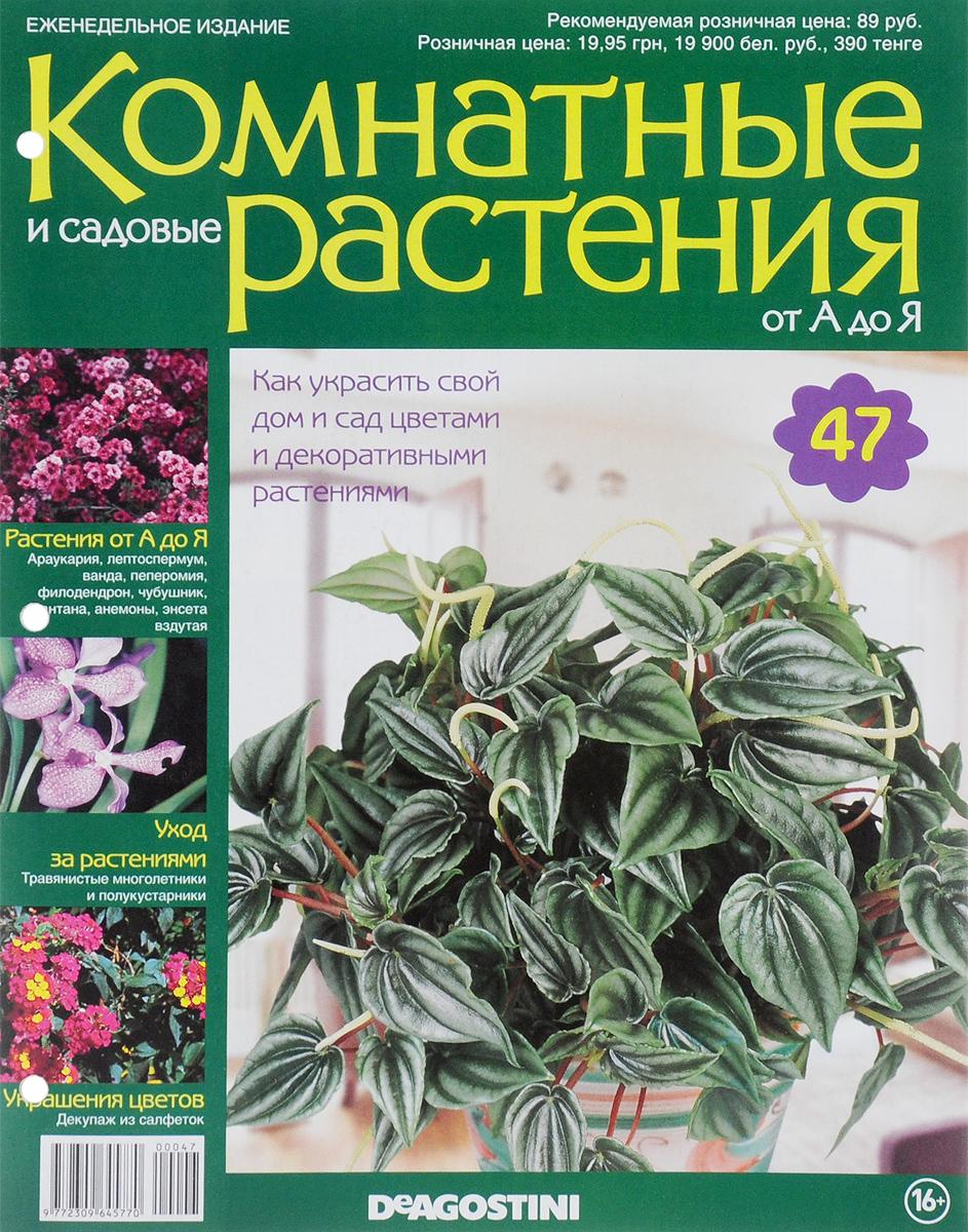 """Журнал """"Комнатные и садовые растения. От А до Я"""" №47,"""
