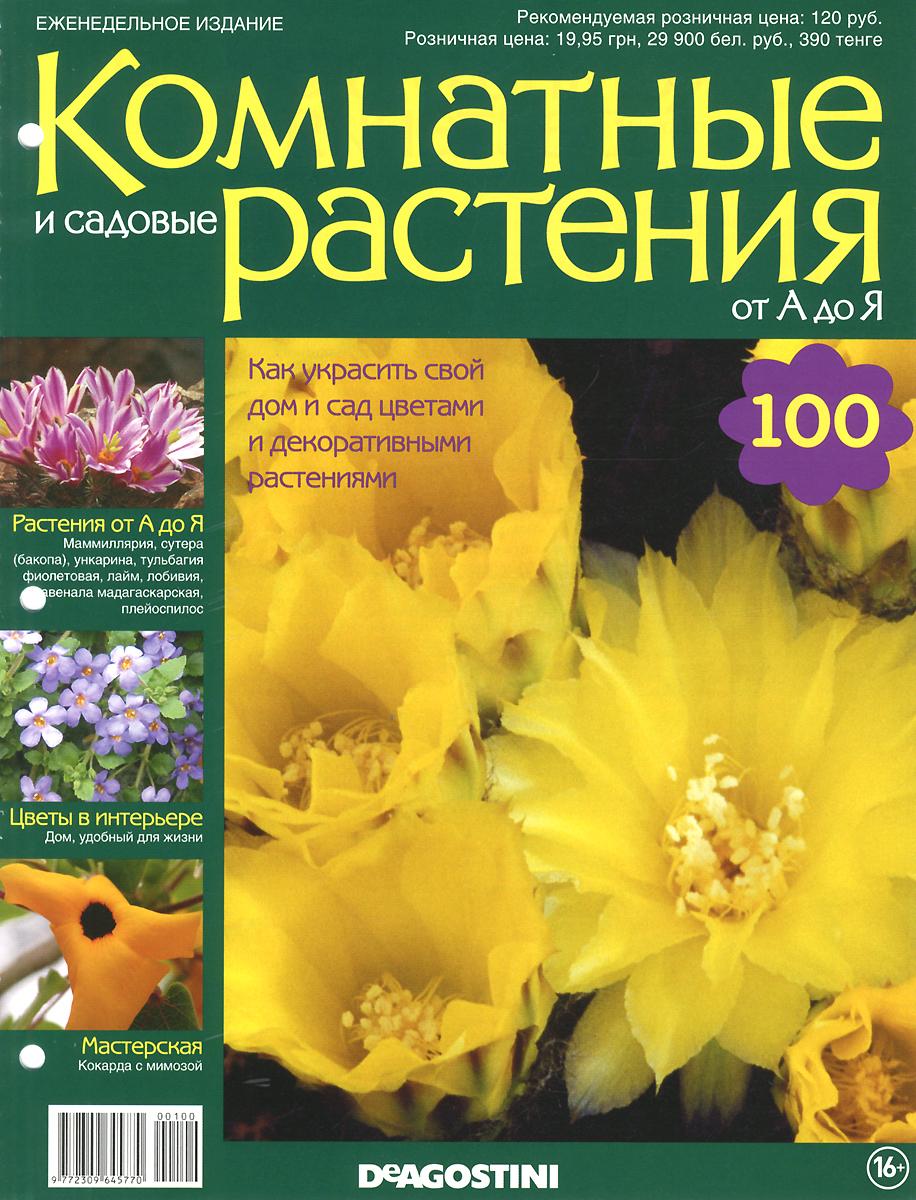 """Журнал """"Комнатные и садовые растения. От А до Я"""" №100,"""