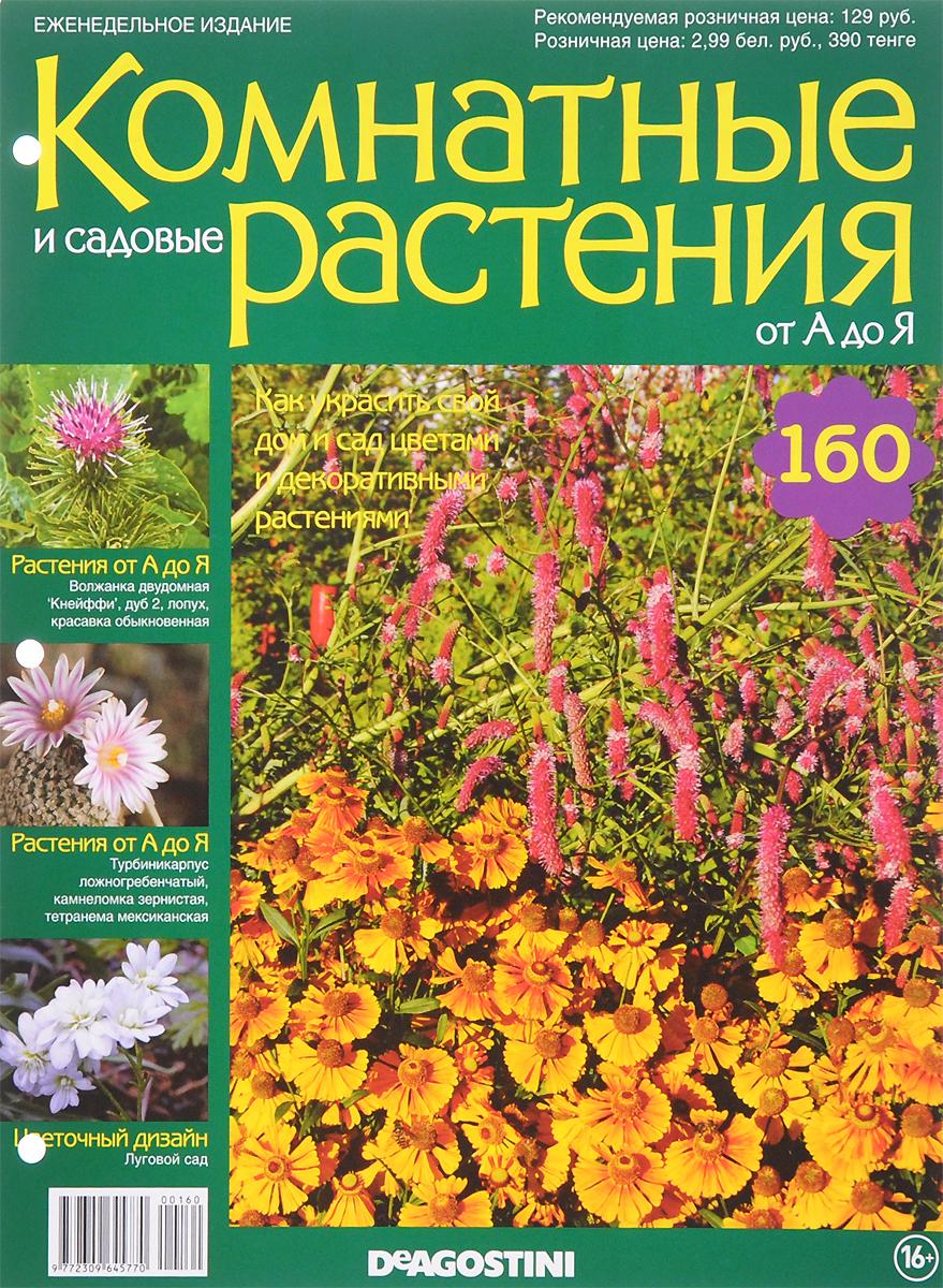 """Журнал """"Комнатные и садовые растения. От А до Я"""" №160,"""