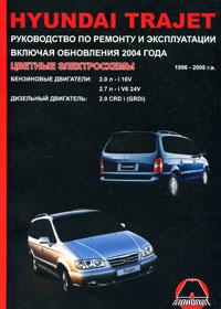 Hyundai Trajet. Руководство по ремонту и эксплуатации, М. Е. Мирошниченко
