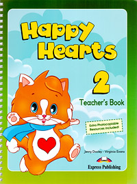 Happy Hearts 2: Teacher's Book, Jenny Dooley, Virginia Evans