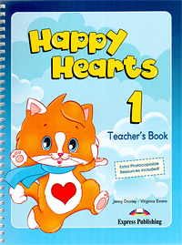 Happy Hearts 1: Teacher's Book, Jenny Dooley, Virginia Evans
