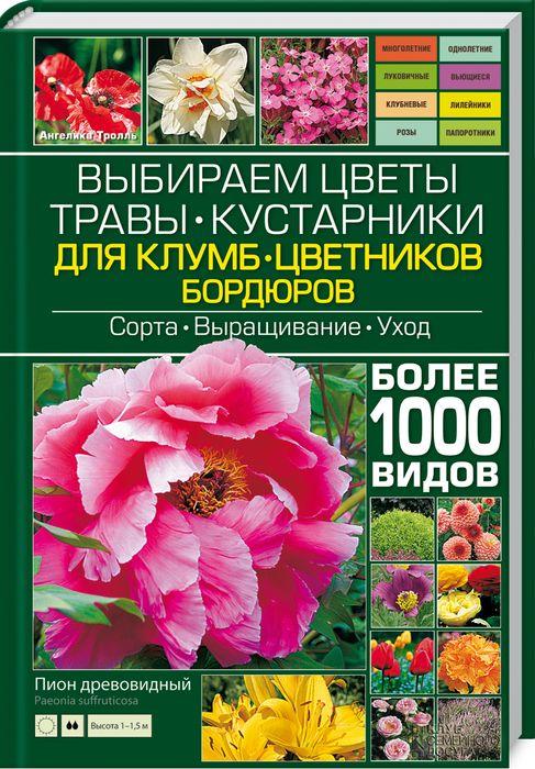 Выбираем цветы, травы, кустарники для клумб, цветников, бордюров, Ангелика Тролль
