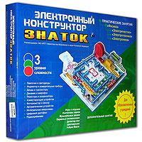 Настольная игра 999 схем. Электронный конструктор