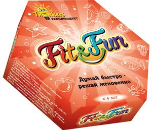 Настольная игра Fit and Fun. Обучающая игра от 6 до 9 лет