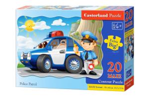 Настольная игра Полицейский патруль. Пазл, 20 элементов