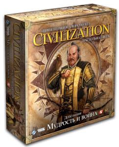 Настольная игра Цивилизация Мудрость и война