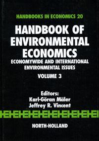 Handbook of Environmental Economics: Volume 3: Economywide and International Environmental Issues