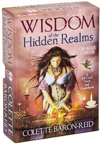 Wisdom of the Hidden Realms: Oracle Cards (книга + 44 карты)