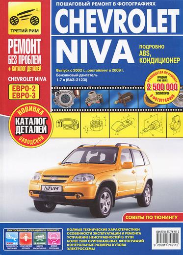 Chevrolet Niva. Выпуск с 2002 г. Руководство по эксплуатации, техническому обслуживанию и ремонту